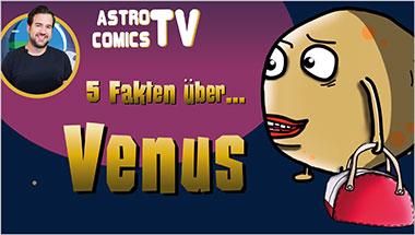 5 Fakten über Venus - Ein Unterrichtsmedium auf DVD