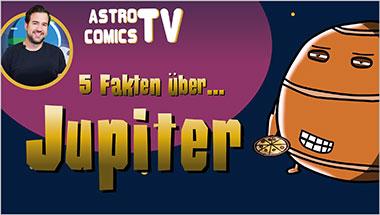 5 Fakten über Jupiter - Ein Unterrichtsmedium auf DVD
