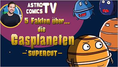 5 Fakten über die Gasplaneten (SUPERCUT) - Ein Unterrichtsmedium auf DVD