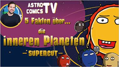 5 Fakten über die inneren Planeten (SUPERCUT) - Ein Unterrichtsmedium auf DVD