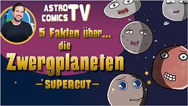 5 Fakten über die Zwergplaneten (SUPERCUT) - Ein Unterrichtsmedium auf DVD