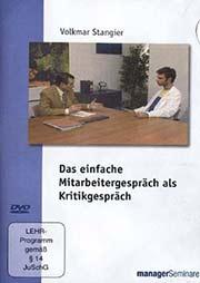 Das einfache Mitarbeitergespr�ch als Kritikgespr�ch - Ein Unterrichtsmedium auf DVD